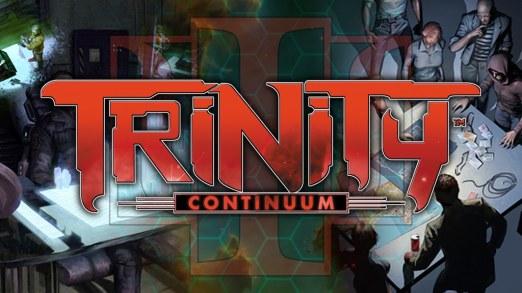 Kickstarter Graphik für Trinity Continuum: Æon RPG
