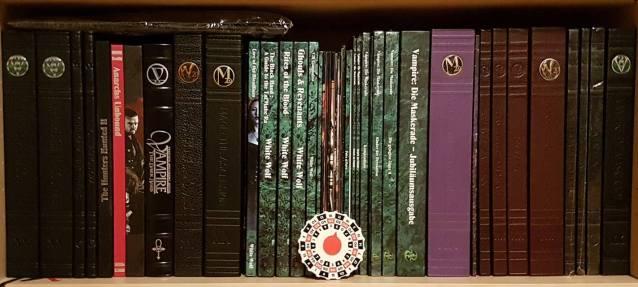 Sammlung meiner engl. Deluxe und deutschen x20 Bände