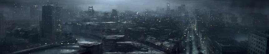 WoDNews Kopfgraphik (Stadt bei Nacht)