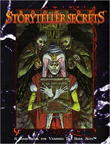 Book Of StorytellerSecrets - Vampire: The Dark Ages Cover