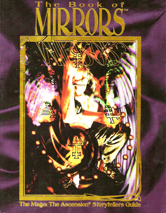 Buchcover: The Book Of Mirrors (Mage The Ascension)