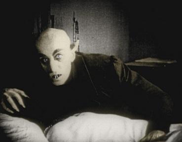 Film Szene aus Nosferatu (1922)
