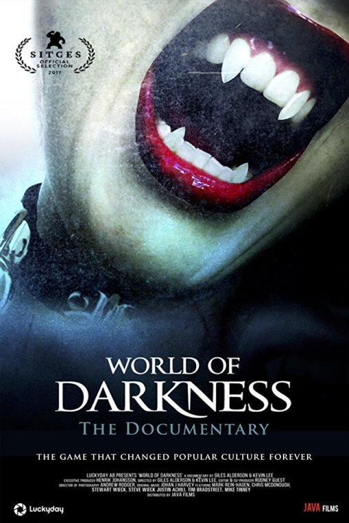 "Poster ""World Of Darkness - The Documentary"""