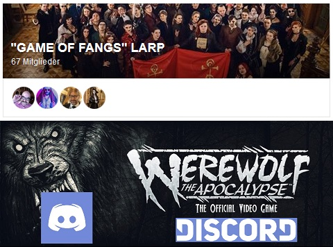 "News-Happen: Offizieller Werwolf-Videospiel Discord & Open Development für Mark-Rein Hagens ""Game of Fangs"""