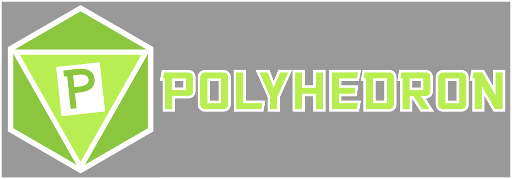 Headcanons Polyhedron Podcast Logo