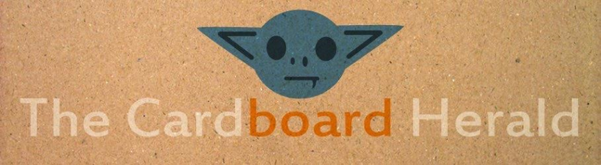 The Cardboard Herald Podcast Logo