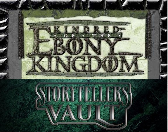 Storytellers Vault Kindred Of The Ebony Kingdom CoverMixUp (KotE & SV)