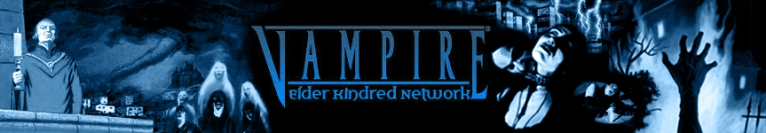 Vampire Elder Kindred Network (V:EKN Logo)
