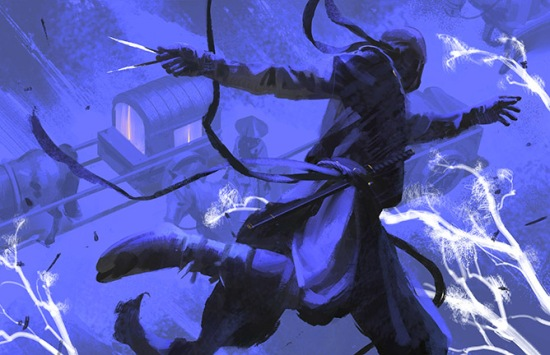 Exalted 3rd Edition - Dragon Blooded Illustration von Yihyoung-Li