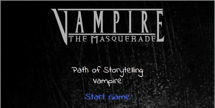 Fanwerk (EN): White Wolf Spielbuch und Online-Aufbereitung