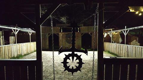 The Night In Question Larp - Sabbat Ankh in Türahmen