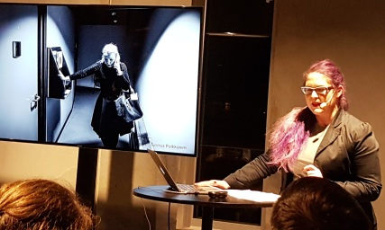 Nordic Larp Talk Malmö 2018 - Maria Pettersson über Parliament Of Shadows Foto 2/3