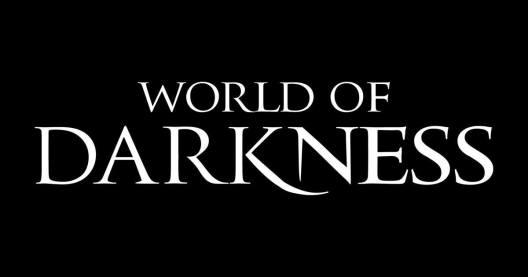 White Wolf: WorldOfDarkness Schriftzug