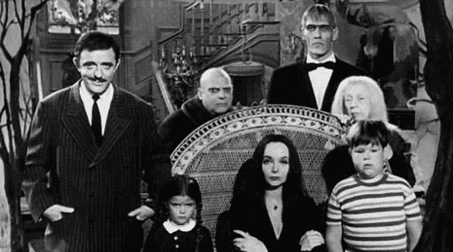 Addams Family - Bild aus der ersten Serie