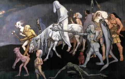 The Fomorians, in der Darstellung von John Duncan (1912)