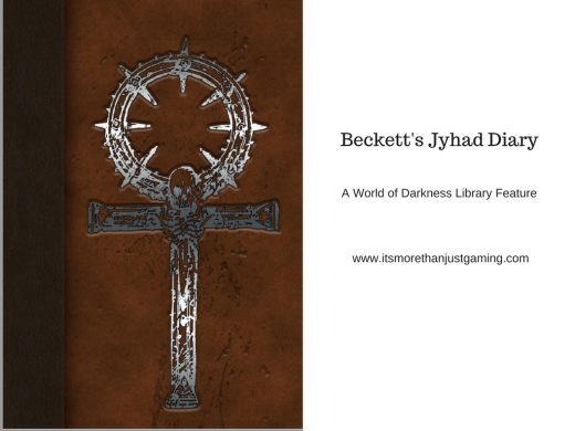 It's More Than Just Gaming Blog Logo für die Review von Beckett's Jyhad Diary