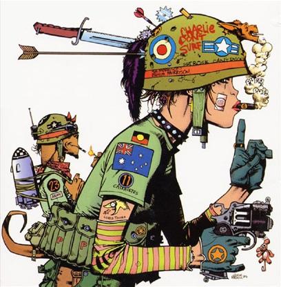 Krieg der Clans - Caitiff - Tank Girl