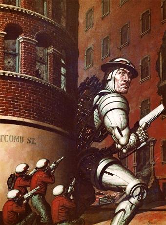 Monday Meeting Notes - Illustration von Larry Blamire - War on Whitcomb