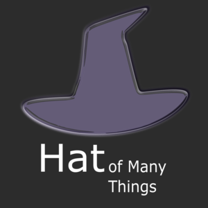 Hat of Many Things Podcast Logo