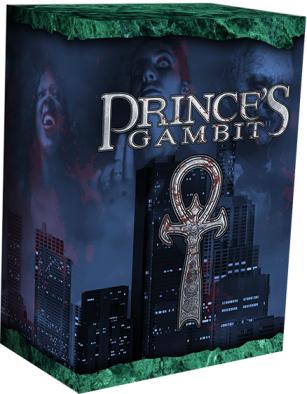 The Prince's Gambit - Kartenspiel - Entwurf der Spielebox