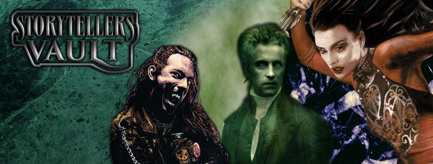 Storytellers Vault: Fan-Veröffentlichungen für Vampire und die Welt derDunkelheit