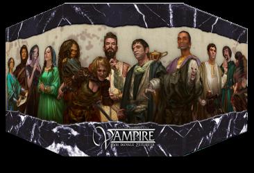 Ulisses Spiele, Bonusziel Spielleiterschirm Vampire Das Dunkle Zeitalter, Mockup