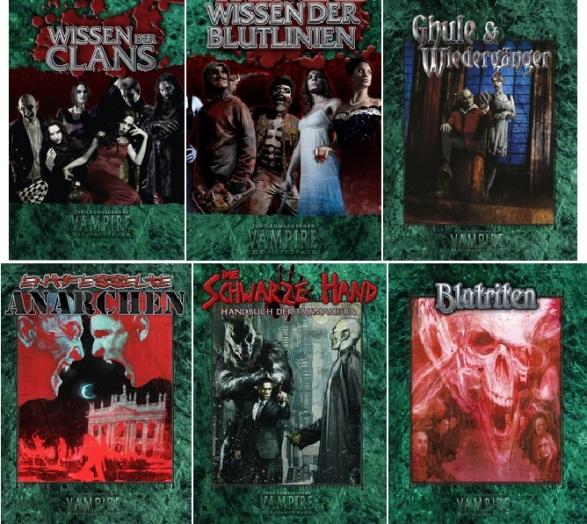 Vampire: Die Jubiläumsausgaben: Neue Bücher für Vampire: Die Maskerade