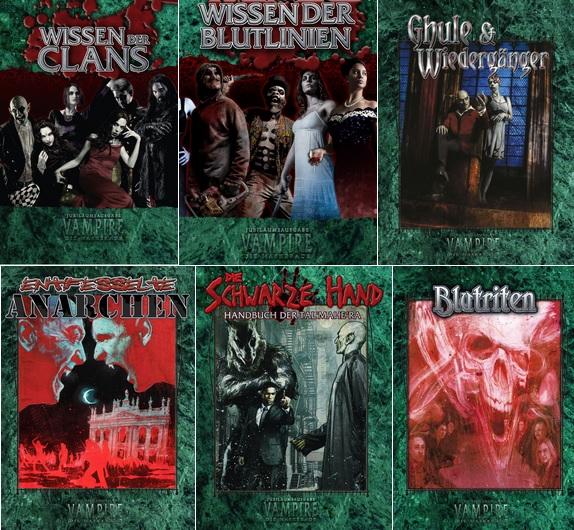 Ulisses Vampire Crowdfunding, Ahn - V20 Bücher
