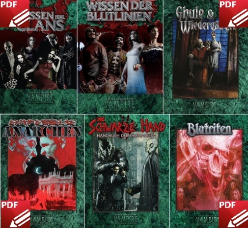 Ulisses Vampire Crowdfunding, Guhl der Maskerade - Alle neuen V20 PDF
