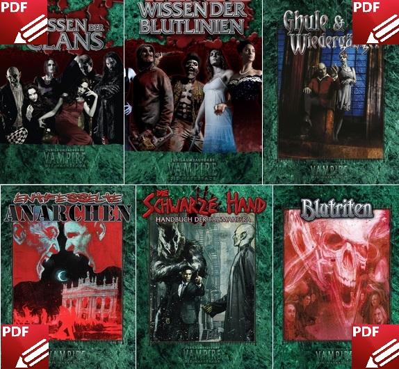 Neue dt. Vampire (V20) Bücher im Digitalschuppen vonUlisses
