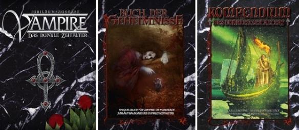 Vampire: Die Jubiläumsausgaben: Neue Bücher für Vampire: Das Dunkle Zeitalter