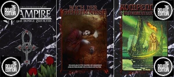 Ulisses Vampire Crowdfunding, Ahn - Alle neuen VDZ Deluxe Bücher