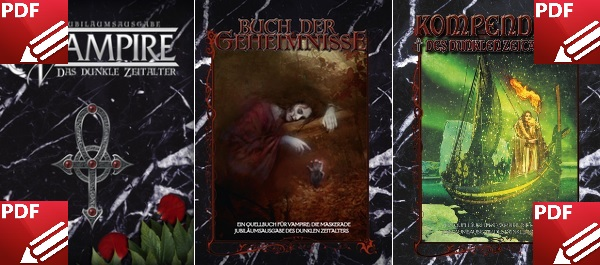 Ulisses Vampire Crowdfunding, Guhl des Dunklen Zeitalters - Alle neuen VDZ PDF