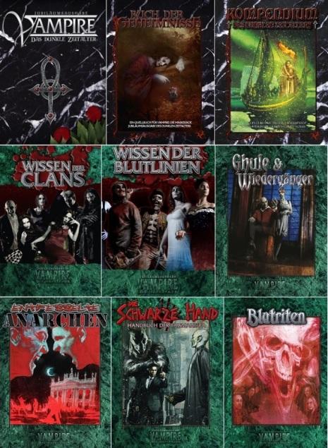 Vampire: Die Jubiläumausgabe - Alle 9 Bücher