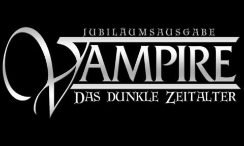 Jubiläumsausgabe - Vampire: Das Dunkle Zeitalter - Logo der Spiellinie von Ulisses Spiele