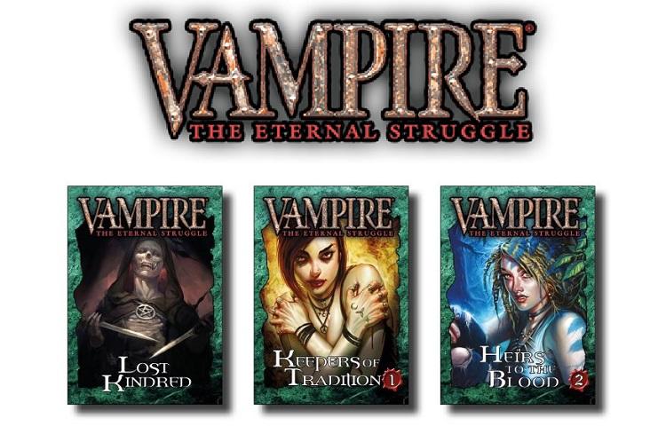 Vampire: The Eternal Struggle (VTES) kehrt zurück! Neu im Druck mit Neuen Karten undMehr!