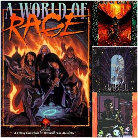 White Wolf Ankündigung - WorldOfDarkness.com mit 120+ PDFs im Shop - Auswahl an verschiedenen Covern