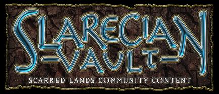 Slarecian Vault - Scarred Lands Community Content - Logobanner