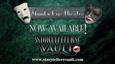 Storytellers Vault - Mind's Eye Theatre - Ankündigungs Logo