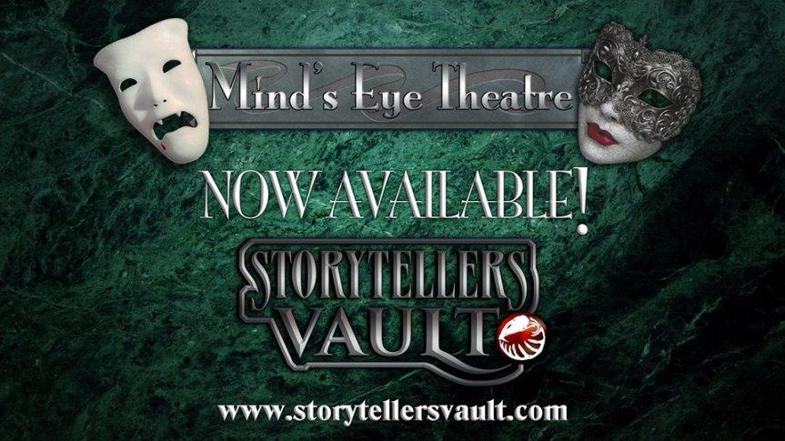 Storytellers Vault: Mind's Eye Theatre (Vampire)Freischaltung