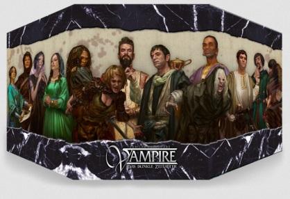 Ulisses Crowdfunding - Spielleiterschirm für Vampire: Das Dunkle Zeitalter