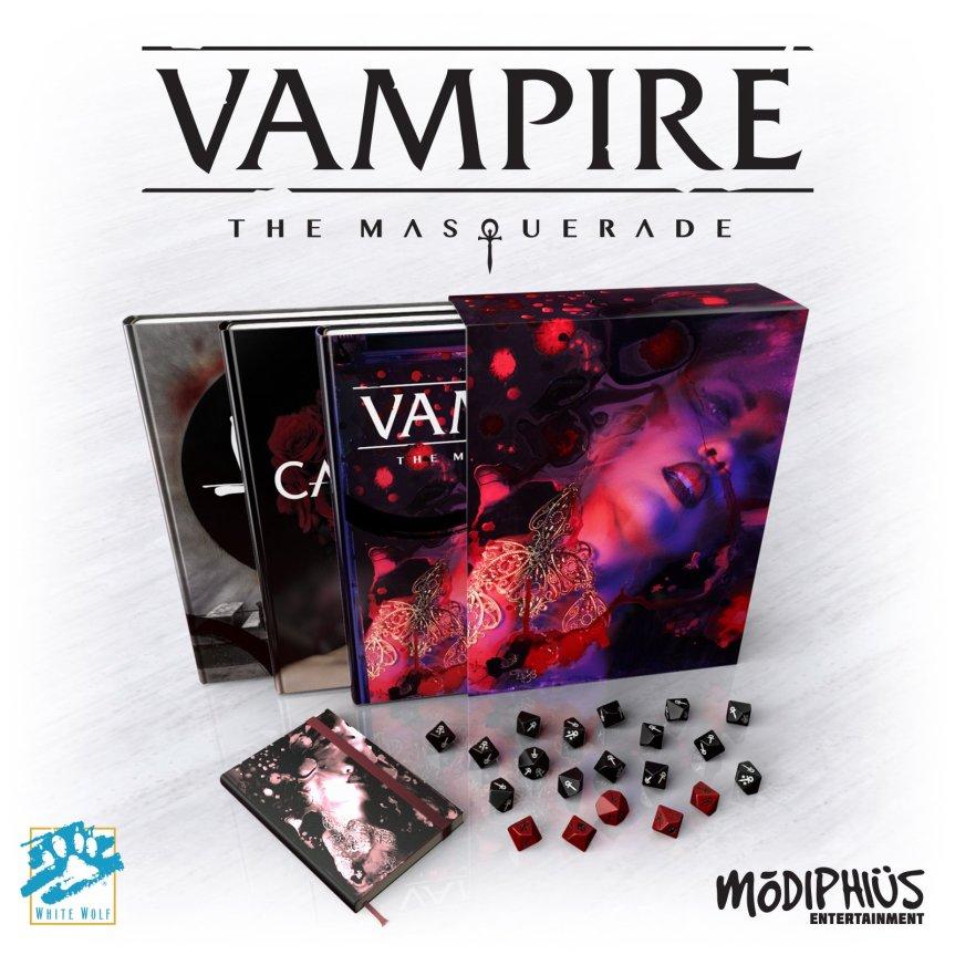 Countdown: 5 Tage bis zum Ende der Vorbestellung für die 5te Edition vonVampire!