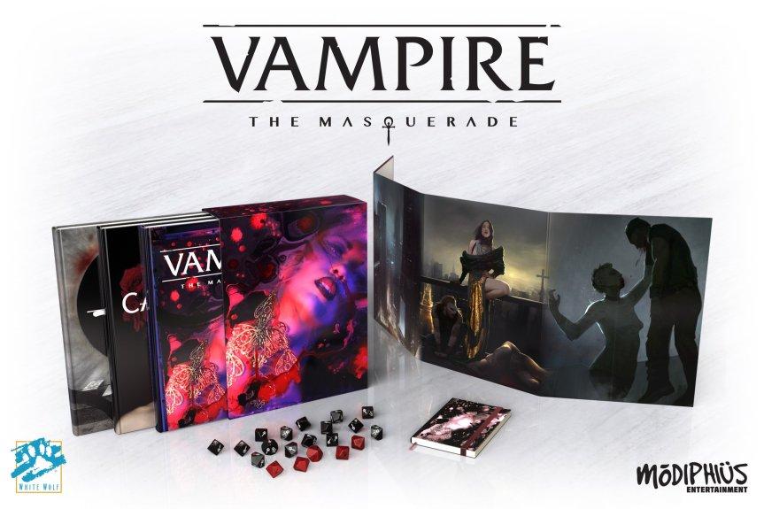 Die Vorbestellung für die 5te Edition von Vampire: DieMaskerade!