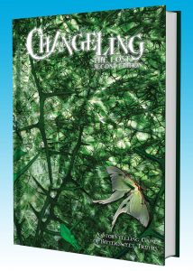 Changeling: The Lost 2nd Edition - Cover - Mock Up
