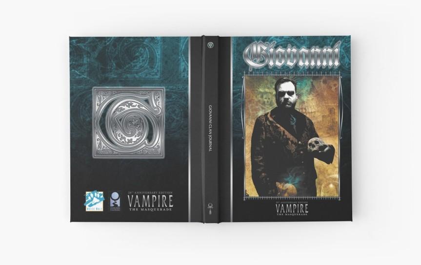 Meine Gedanken zu den neuen V20 Clan-Notizbüchern von OnyxPath