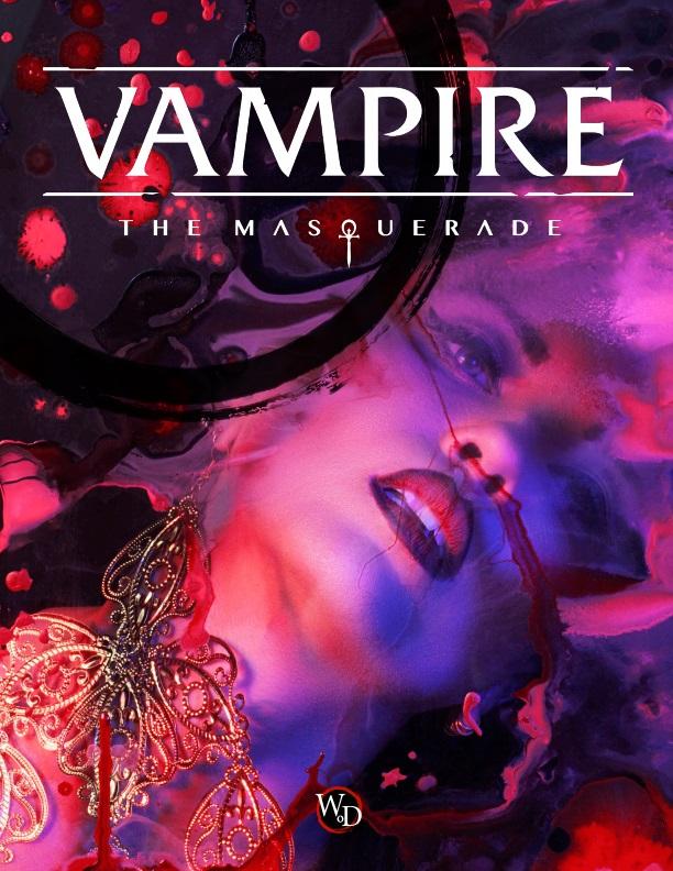 Vampire: The Masquerade - Cover der V5 Preview