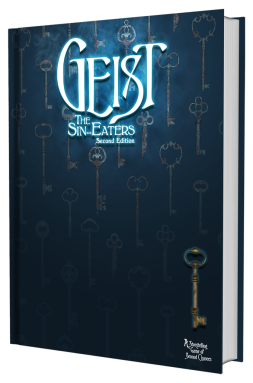 Geist: The Sin-Eater 2nd Edition - Buch MockUp