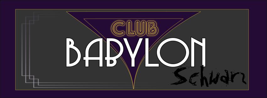 LARP Ankündigung: Club Babylon Schwarz2019