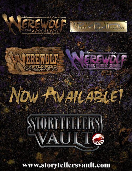 White Wolf - Werewolf: The Apocalypse - Im Storytellers Vault verfügbar!