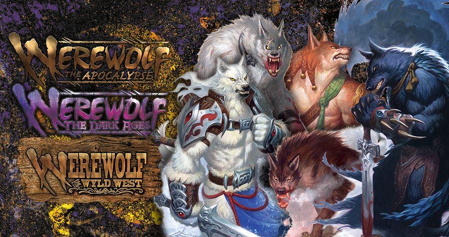 Werewolf: The Apocalypse - Storytellers Vault - Banner